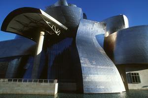 Le musée Guggenheim de Bilbao en Espagne en 1999.