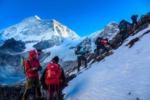 Ascension au Népal (David Ducoin)
