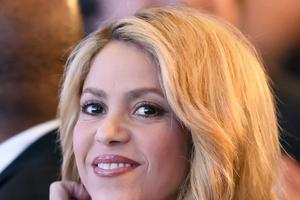 La chanteuse Shakira.