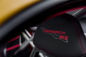 Un pack Weissach permet d'accroître le potentiel sportif.