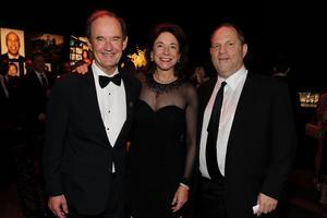 David Boies, sa femme et Harvey Weinstein (2011)