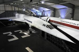 Hall Concorde au Musée de l'air et de l'espace