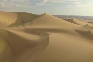 Les dunes du désert d'Ica