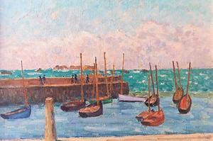 Portivy par Émile Dezauzay (1854-1938).