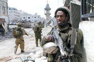 Des soldats israéliens à Nablus.
