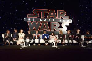 Lors de la conférence de presse internationale, l'équipe des «Derniers Jedi» s'est réjoui de la place prise par les personnages féminins.
