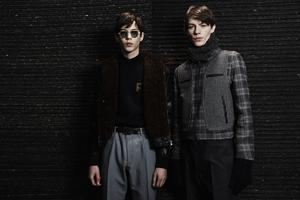 Des modèles de la collection Salvatore Ferragamo, hiver 2017-2018.