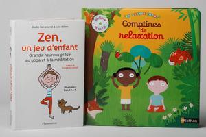 «Zen un jeu d'enfant» et «Comptines de relaxation» pour recentrer les enfants en s'amusant.