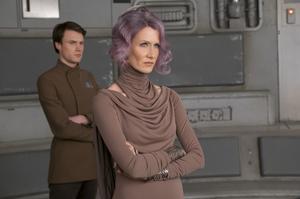 La vice-amiral Holdo, jouée par Laura Dern.