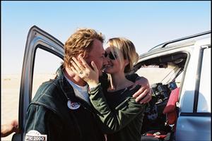 Johnny et Laeticia ont participé au rallye Optic 2000 en Tunisie en 2001.