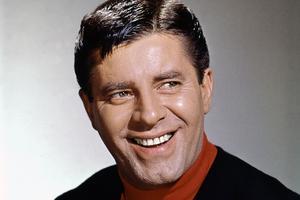L'acteur Jerry Lewis, ici photographié en 1965.