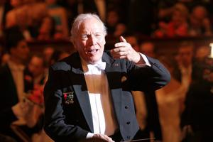 Georges Prêtre ici en concert à Vienne en 2006.
