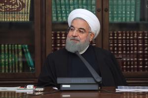 Le président Hassan Rohani a tenu à minimiser l'ampleur des manifestations.