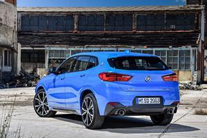 Le BMW X2.