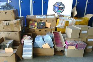 Plus de quatre mille CD ont été retrouvés par la gendarmerie de Quissac grâce à une plainte déposée par Lio.