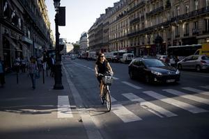 À vélo, tout est permis.
