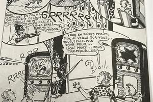Selon l'éditeur, la bande dessinée est «à l'inverse du racisme».