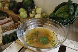 Soupe au chou au resto-épicerie Super(XIe).