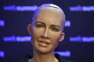 Le robot «Sophia»