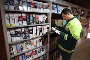 «Lire des livres développe l'intelligence des gens, encourage les idées nouvelles.»