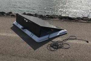 Supersola a développé un panneau solaire portatif
