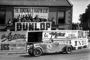 Earl Howe au Tourist Trophy 1935.