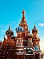 La Russie ne laisse personne insensible avec ses magnifiques et imposants édifices religieux comme ici la cathédrale Saint-Basile-le-Bienheureux.