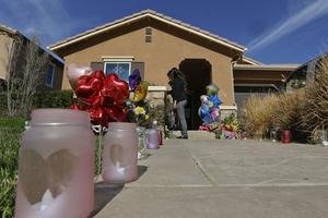 La maison de l'horreur dans le comté de Riverside en Californie.