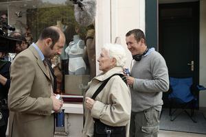 Dany Boon sur le tournage de «Bienvenue chez les Ch'tis» (2008).