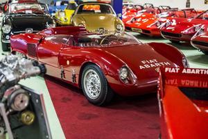 Abarth a produit à partir de la fin des années 1950 une série de barquettes de course.