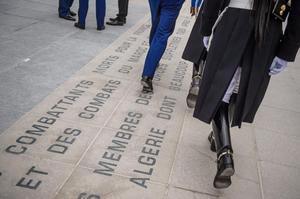 Cérémonie de commémoration de la fin de la guerre d'Algérie.