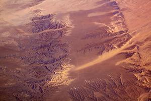 Le désert de Gobi.
