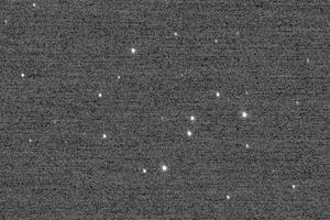 L'amas d'étoiles NGC 3532 vu par New Horizons le 5 décembre 2017.
