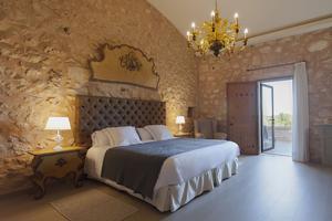 Une chambre de la Finca Gomera