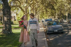 Saoirse Ronan et Lucas Hedges incarnent un couple de la jeunesse américaine dont l'avenir n'est pas si rose.