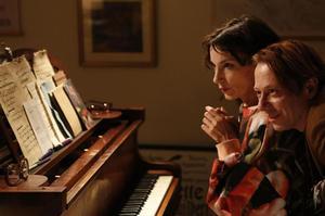Balibar et Almaric sur le tournage de «Barbara».