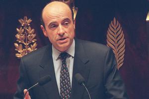 Le premier ministre Alain Juppé lors de son discours du 15 novembre au palais Bourbon.