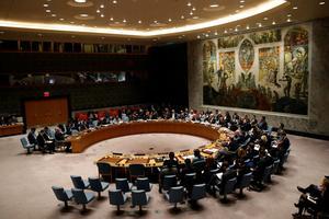 Réunion de l'ONU ce lundi.