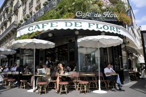 Le Café de Flore.