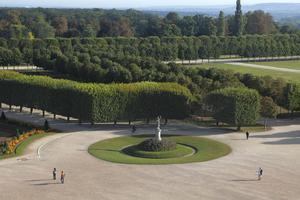 Le parc du château deSaint-Germain-en-Laye.