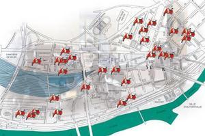 Les différentes aires de stationnement pour deux-roues à Charenton.