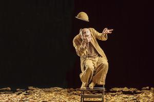 Léandre Clown dans «Rien à dire», au théâtre 13ème Art.