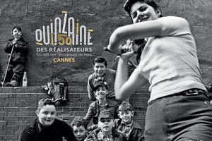 L'affiche 2018 de la Quinzaine des réalisateurs.