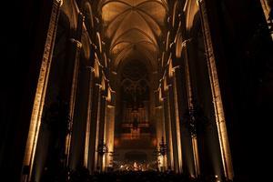 Leonard Cohen était à l'honneur dans la cathédrale de Bourges.