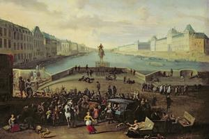 Le Pont-Neuf vers 1665-1669.