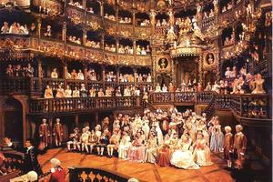 L'Opéra de Bayreuth avait servi de décor au film <i>Farinelli</i> de Gérard Corbiau, sorti en 1994.