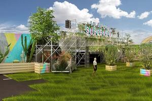 Projet pour le Jardin Suspendu.
