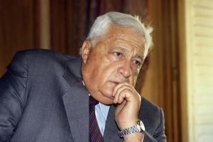 Ariel Sharon en 1990.