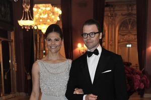 Victoria de Suède et Daniel Westling lors de leur mariage en 2010.