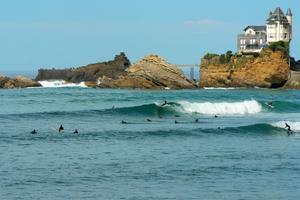 À Biarritz, le spot historique de la Côte des Basques